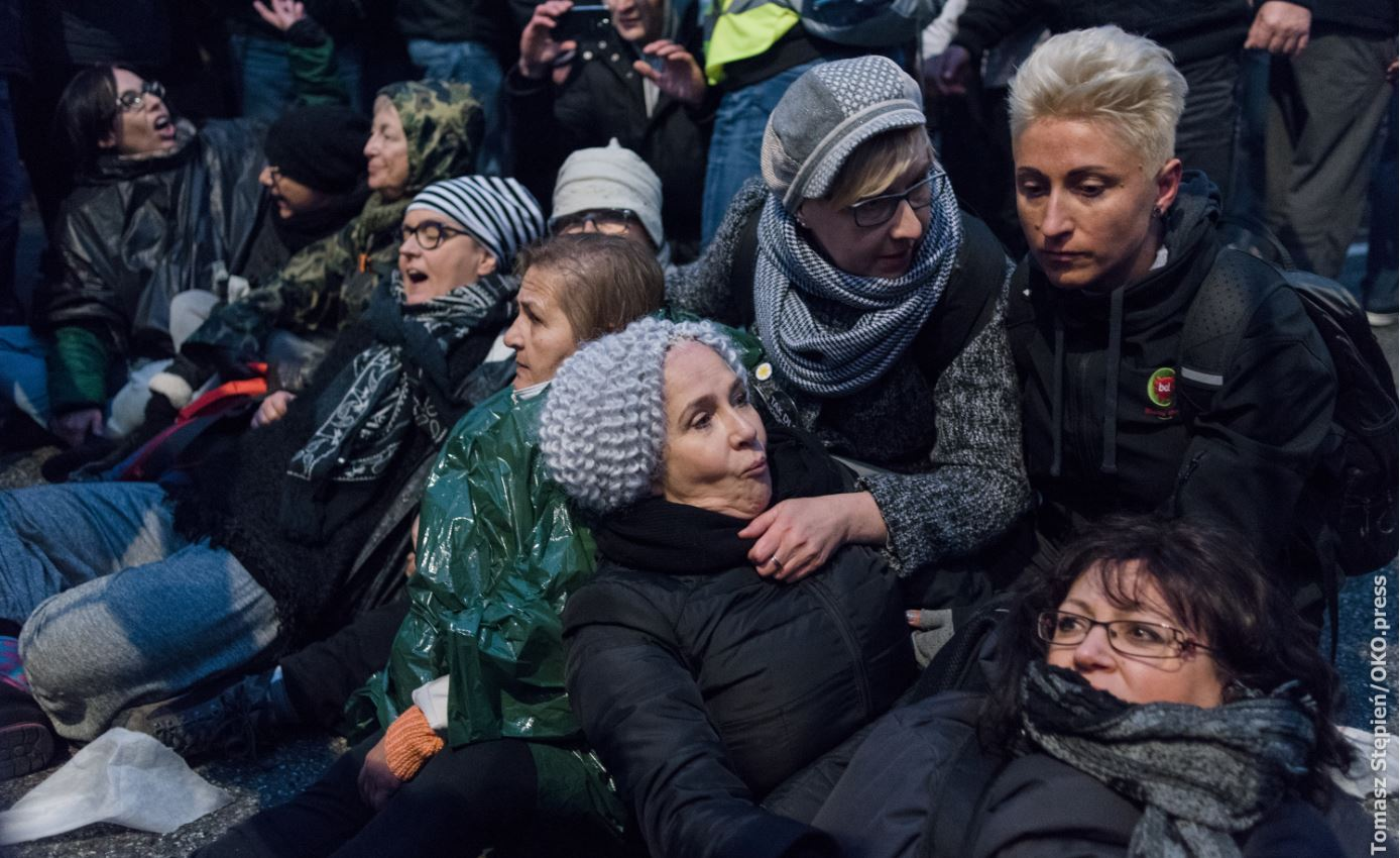 Protect women fighting hate in Poland