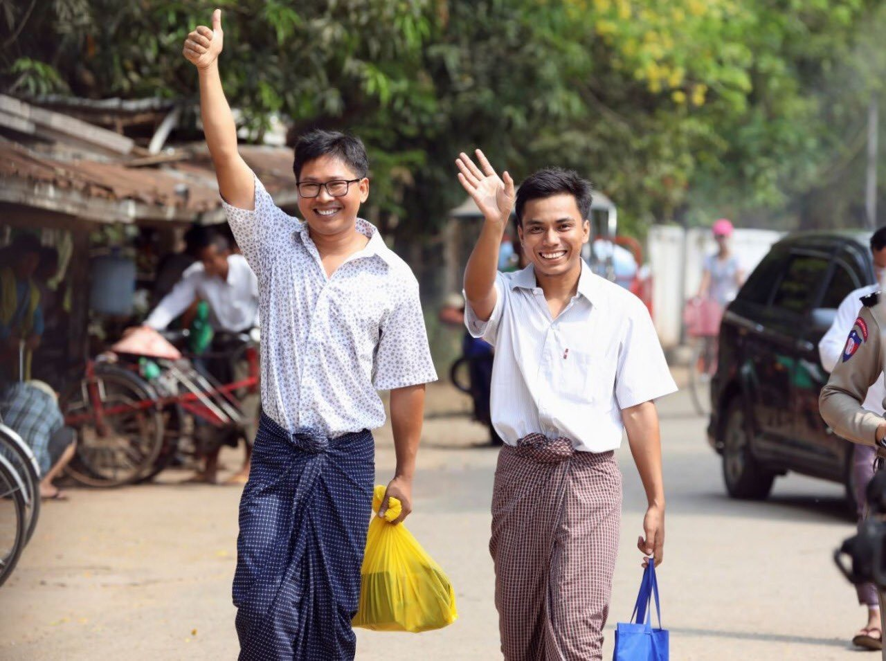 Good News: Journalists Wa Lone and Kyaw Soe have been released
