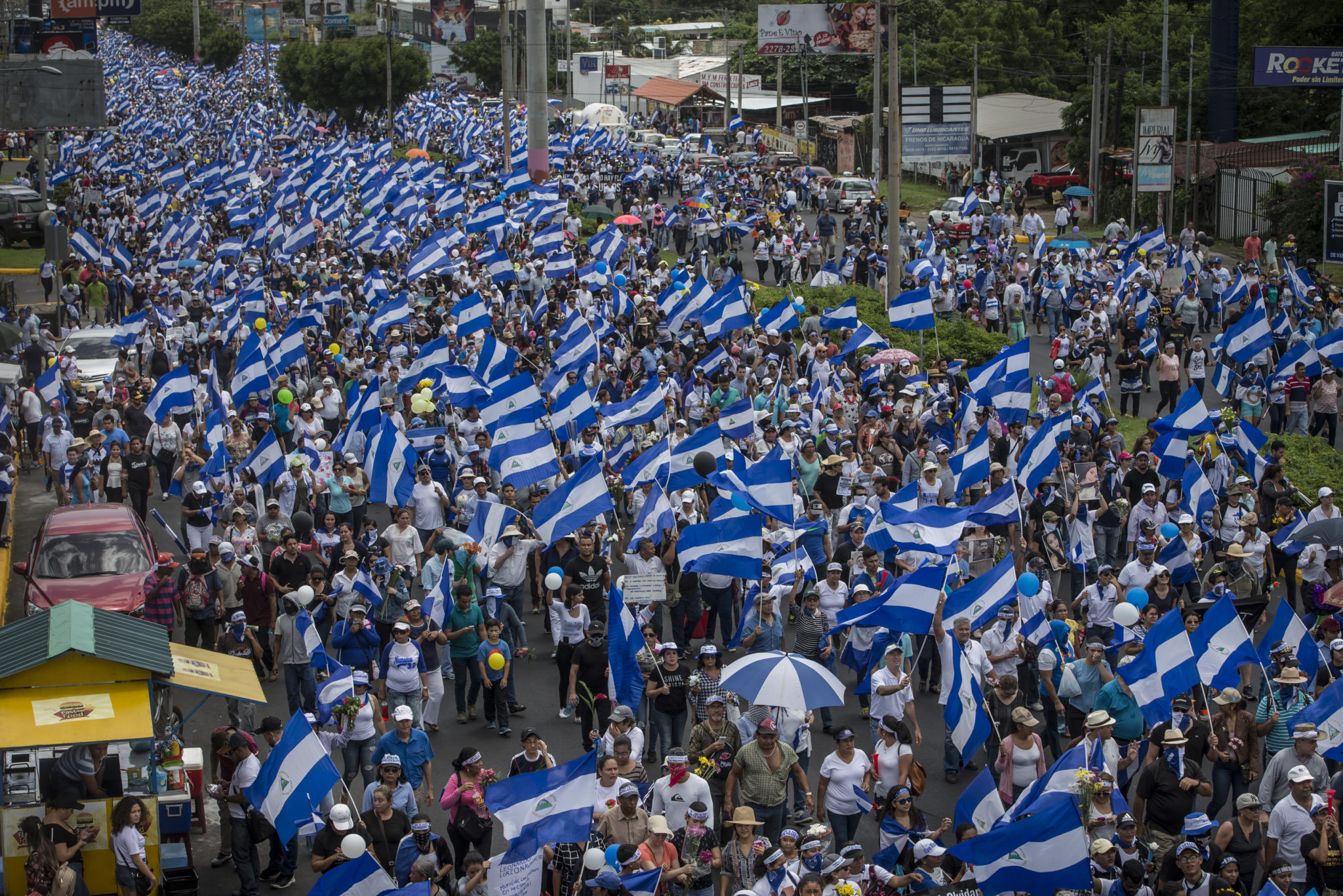 Urgent Action: A year on, many in jail for protesting in Nicaragua