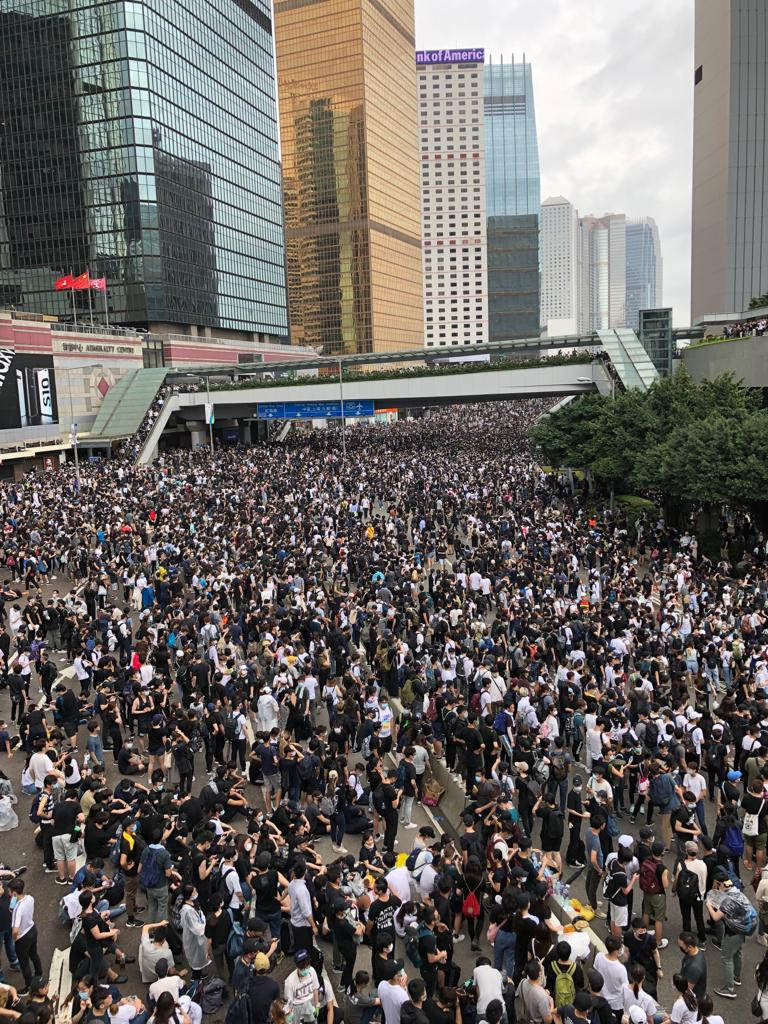 Hong Kong: Police must end excessive force against largely peaceful protest