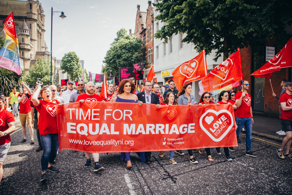 Northern Ireland: Same-sex marriage to be legalised and UK must legislate on ending abortion ban