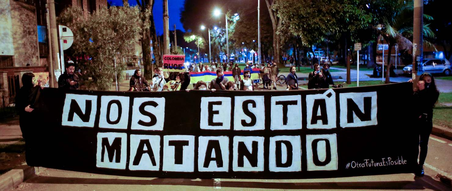 Colombia: Concerning reports of disappearances and sexual violence against protesters
