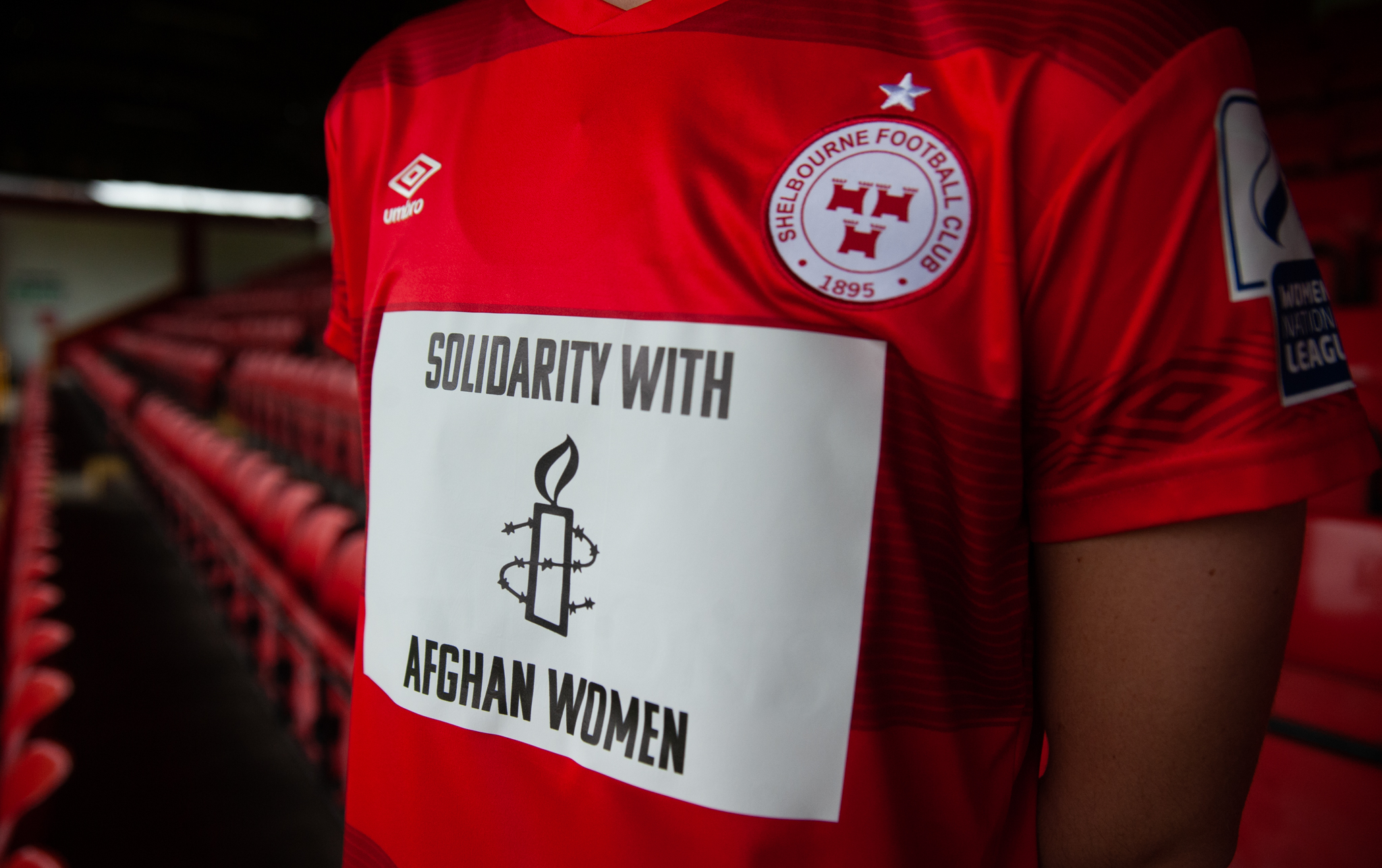 Shelbourne FC and Amnesty team up for Afghan women