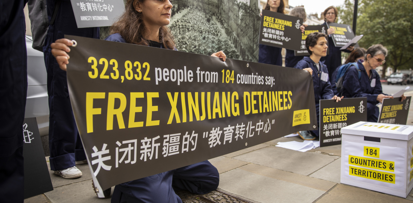 China: UN must act on Xinjiang atrocities after petition shows mass global outrage